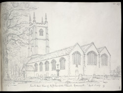Kilkhampton Church, Cornwall f.155